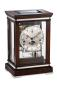 Preview: Kieninger noble mantel clock walnut finish triple chime on 8-rod gong 1267-22-02