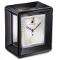 Preview: Kieninger exclusive mantel clock noble black finish one month winding period 1271-96-01