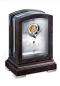 Mobile Preview: Kieninger Tischuhr Art-Deco Nussbaum Zifferblatt mit Tourbillon 1277-96-01