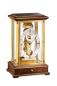 Preview: Kieninger fine skeleton mantel clock walnut passing strike 1278-23-01