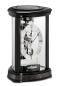 Preview: Kieninger modern skeleton clock black passing strike Trigon 1289-96-01