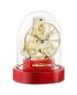 Preview: Kieninger miniature mantel clock red 1302-77-01