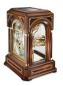 Preview: Kieninger quality walnut desk clock with Mozart bel canto on 9 bells chime 1705-22-01
