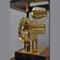 Mobile Preview: Kieninger showcase clock wallnut 9-bell-chime 1712-23-01