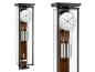 Preview: Kieninger regulator glass walnut burl pendulum carbon fibre coiled gong one month runtime 2548-92-03
