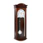 Preview: Kieninger classic walnut wall clock westminster 5-rod gong 2633-22-01